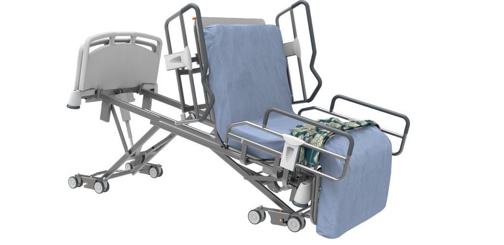 Lit médicalisé hébergement long et court séjour MMO6000