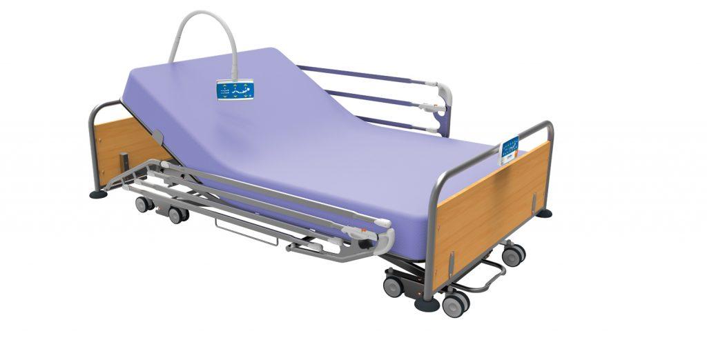 Lit médicalisé hébergement long et court séjour MMO8000