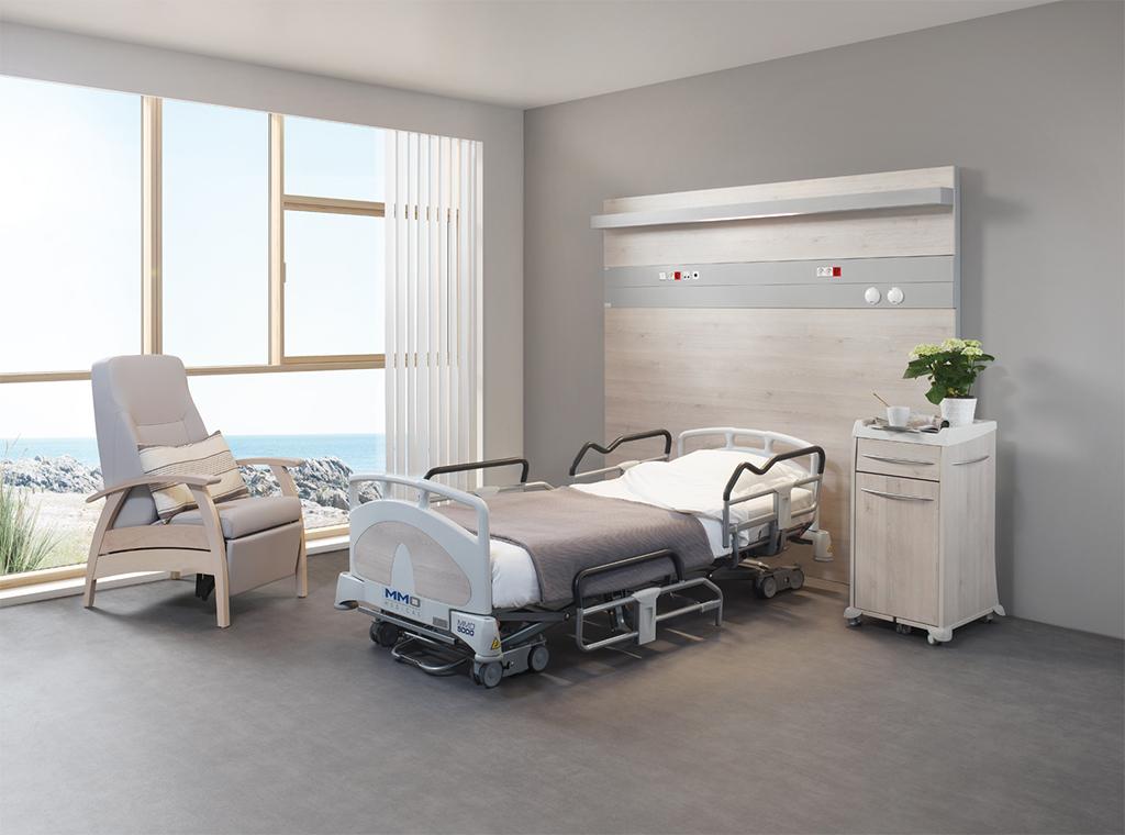 Chambre médicalisée court séjour lit médicalisés MMO5000