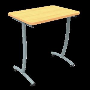Table de chambre dégagement latéral Sana
